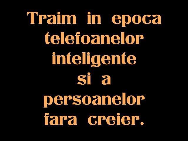 Mesaje amuzante - Trăim în epoca telefoanelor inteligente