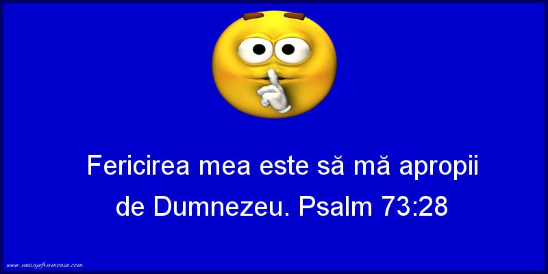 Mesaje frumoase despre credinta - Fericirea mea
