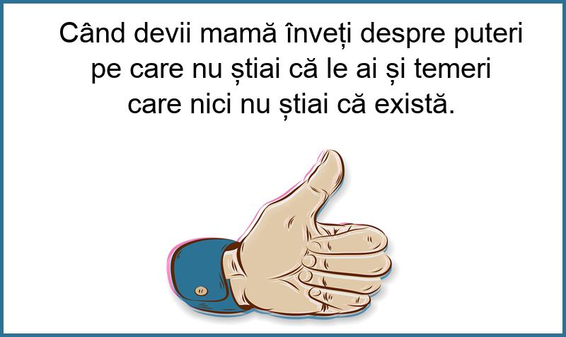 Mesaje frumoase despre familie - Când devii mamă...