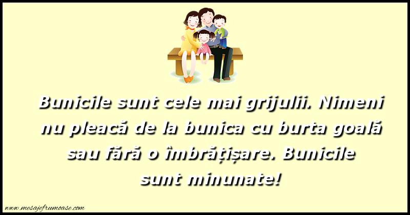 Mesaje frumoase despre familie - Bunicile sunt minunate!