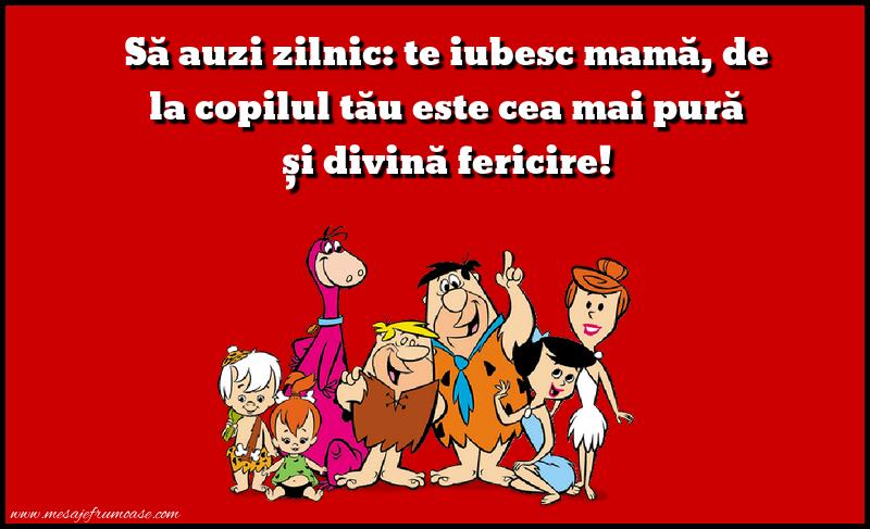 "Mesaje frumoase despre familie - Sa auzi zilnic: ""te iubesc mama"""
