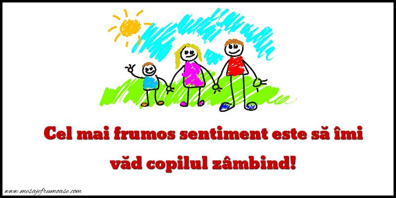 Mesaje frumoase despre familie - Cel mai frumos sentiment