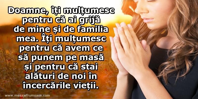 Mesaje frumoase de incurajare - Doamne, îți mulțumesc!