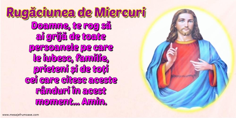 Rugăciunea de Miercuri: Doamne, te rog să ai grijă de toate persoanele