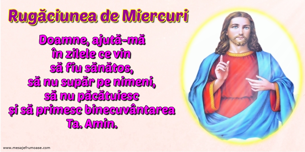 Rugăciunea de Miercuri: Doamne, ajută-mă în zilele ce vin