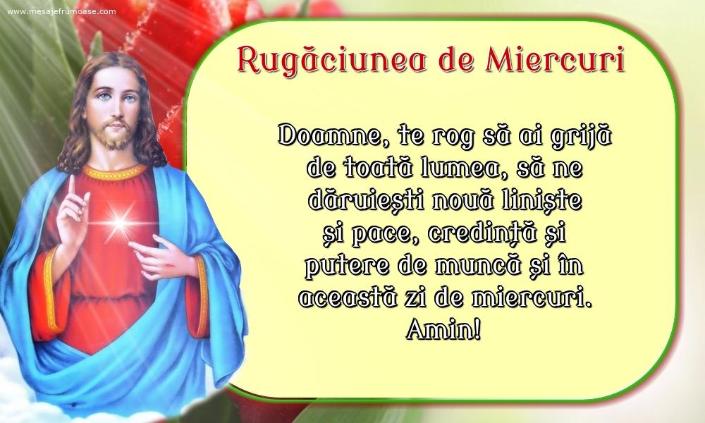 Rugăciunea de Miercuri: Doamne, te rog să ai grijă de toată lumea
