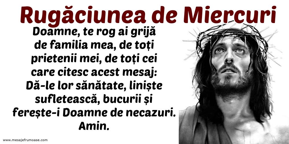 Rugăciunea de Miercuri: Doamne, te rog ai grijă de familia mea