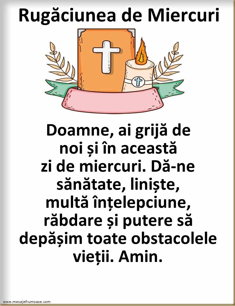 Rugăciunea de Miercuri: Doamne, îți mulțumesc!