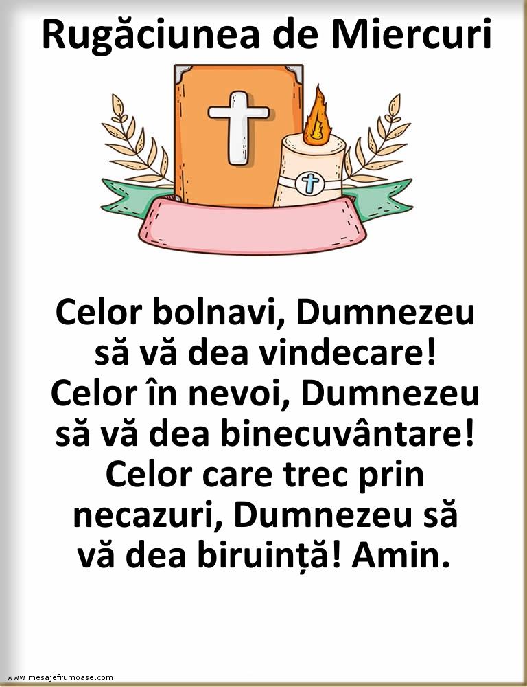 Rugăciunea de Miercuri: Doamne Dumnezeul meu, iartă-mi mie păcătosul toate greșelile mele...