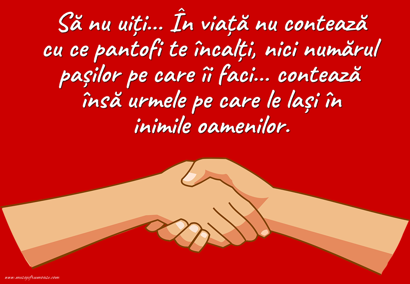 Mesaje frumoase despre prietenie - Sa nu uiti.