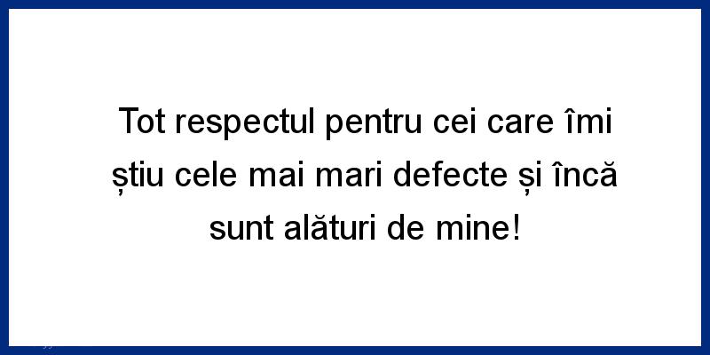 Mesaje frumoase despre prietenie - Tot respectul pentru cei care