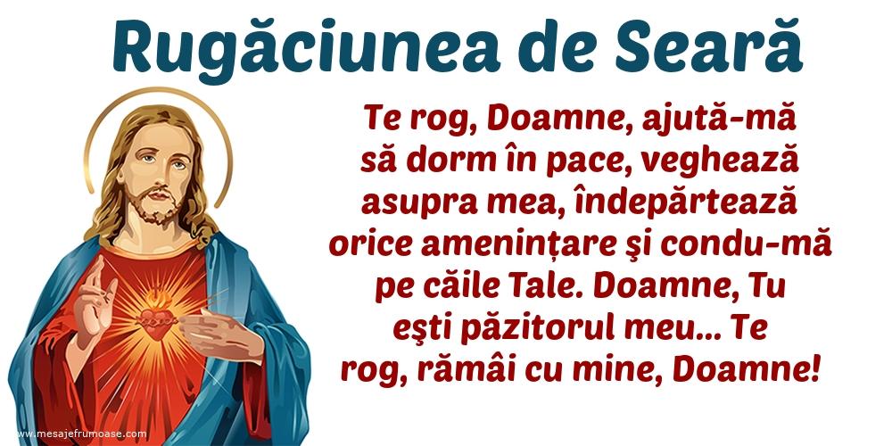 Rugăciunea de Seară: Te rog, Doamne, ajută-mă să dorm în pace